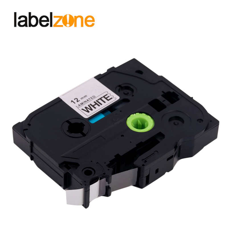 30 color 12mm TZE Label Tape Compatible Brother P Touch Label Printers with Strong Adhesion 3