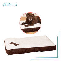 2017 New Pet Bed Memory Foam Dog Bed Unique Luxury Soft Black And Brown Pet Cushion
