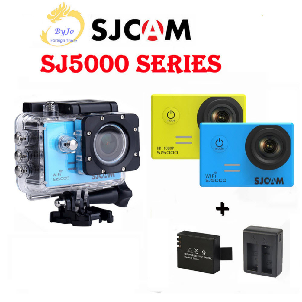 "SJCAM SJ5000 Seria Sports Action Camera 4K DV HDD 2.0 ""SJ5000 WIFI SJ5000X Elite Rezistent la apă camera foto SJ CAM"