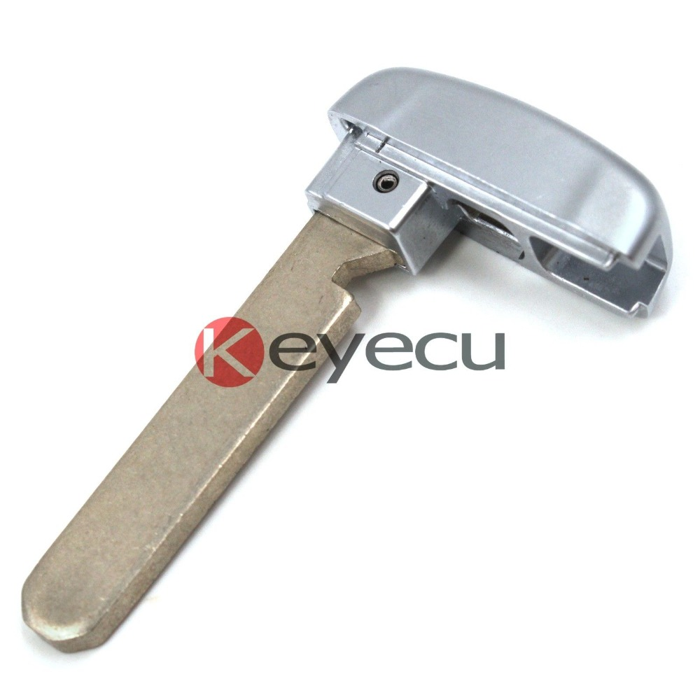 Keyecu New Uncut Emergency Smart Remote Key Insert Blank
