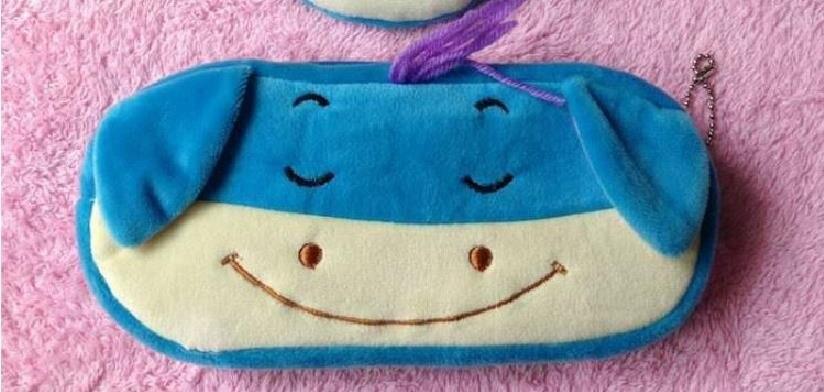 Kawaii Cartoon Pen case Totoro plush Smile Face Emoji Cute Pencil case School Minecraft etui trousse scolaire stylo 04819 31