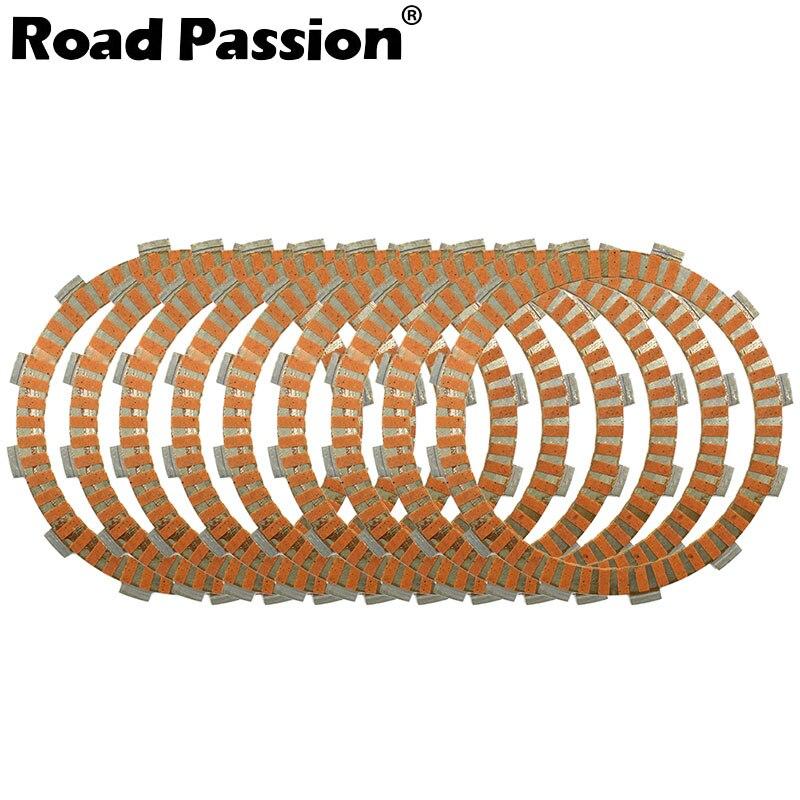 Route Passion 9 pcs Moto Embrayage À Friction Plaques Kit Pour Kawasaki ZZR1100 GPZ1100 ZX1100 ZZR GPZ ZX 1100 Pour Suzuki GSX1300