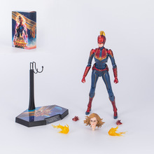 HC Toys Avengers Endgame Superhero Captain Marvel 1/6th Scale PVC Action Figure Collectible Model Toys hot super sexy diskvision original erika 1 5 scale pvc 40cm action figure toys