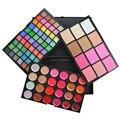 Conjunto de Maquiagem Paleta de 96 Cores de Sombra de Blush Corretivo Gloss Fundação Make-up 3 Camada