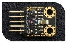 DFRobot Genuine high accuracy RGB and Gesture Sensor V1.0, APDS-9960 chip 3.3-5V I2C interface UV-IR shading filter for arduino