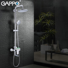 GAPPO bathtub Faucets wall mounted torneira do anheiro faucet showers brass and ABS shower set bathroom rainfall mixer shower(China)