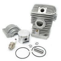 42 5mm Cylinder Kit Piston With Rings Engine Pan Spark Plug Fit Chainsaw Stihl 025 MS250