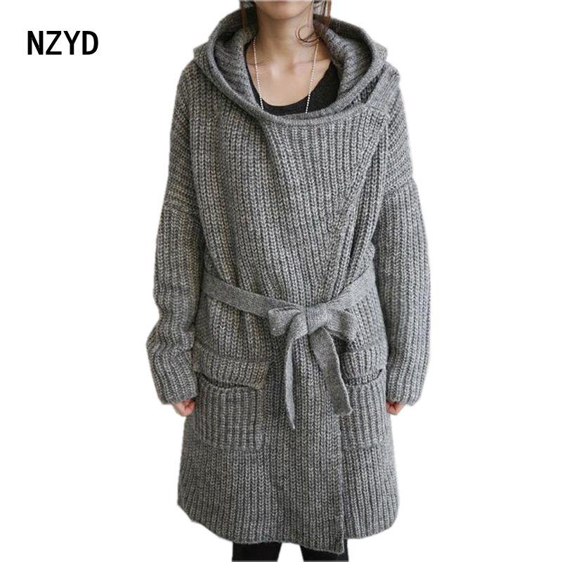Popular Hooded Sweater Coat Belt-Buy Cheap Hooded Sweater Coat ...