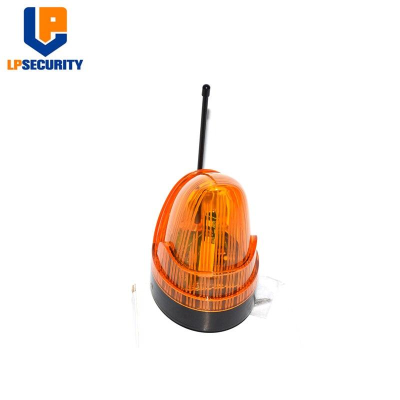Warning Signal Flash Light 24V 220V 12V-265V Optional For Sliding / Swing Gate Motor