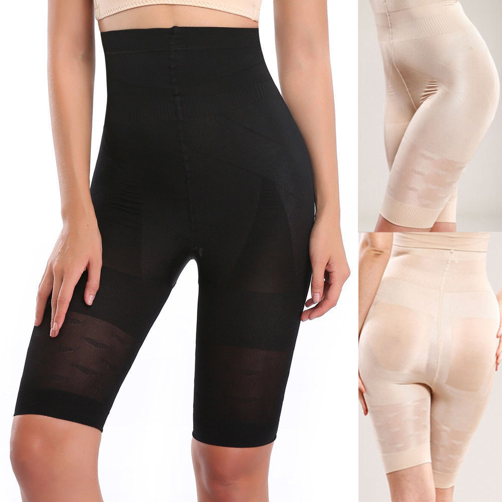 Miss Moly Women's Tummy Control Shaper Girdle Pants High Waist Shorts Slim body Lift Shape Leg Panty Underbust Size S-3XL