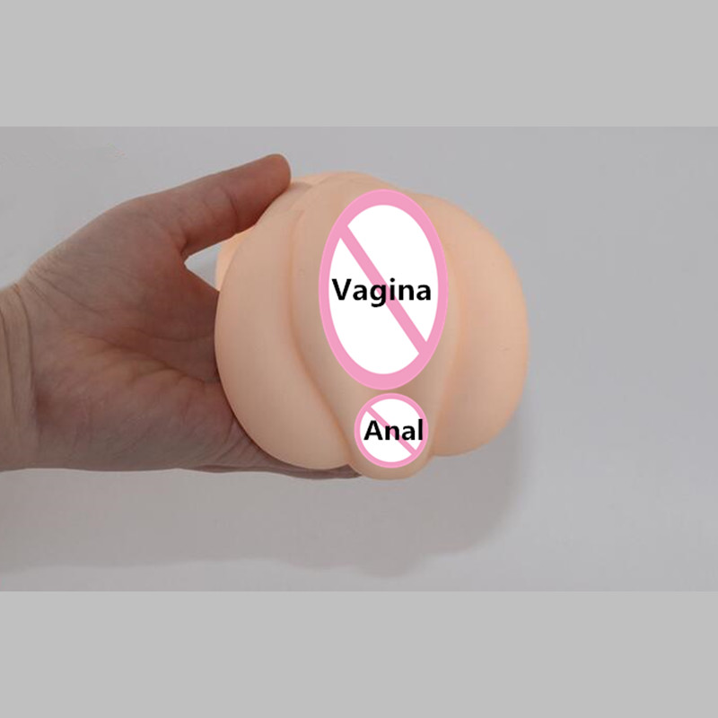 New Design Male Masturbator sexo Double Hole Female Ass Anal And Pussy Artificial Vagina Cup Sexo Pussy Adult Sex Toys For Men male masturbator cup artificial vagina pussy virgin mini lifelike pocket pussy sucking masturbation cup adult sex toys b2 1 20