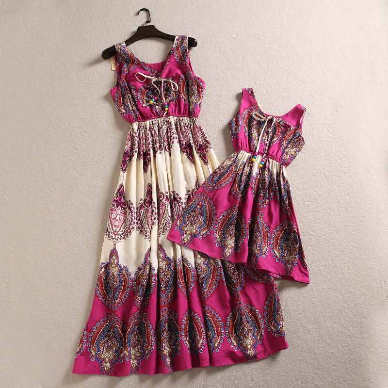 Mother Mom Daughter Dress Mum and Daughter Dress Girls Dress Mom and Daughter Matching C ...