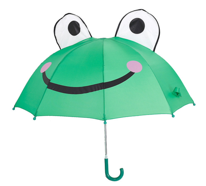 Children Cartoon Umbrella Frog Bears Mickey Bees Half ...