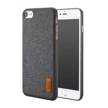 Baseus Художественный PP + Ткань Ультра Тонкий Раскладной Чехол Телефон Для Жилищного iPhone 7 Темно-Серый