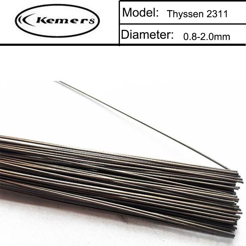 1KG/Pack Kemers Thyssen 2311 0.8/1.0/1.2/2.0mm TIG Welding Wire for Welders High Quality Welding Wires G124 professional welding wire feeder 24v wire feed assembly 0 8 1 0mm 03 04 detault wire feeder mig mag welding machine ssj 18