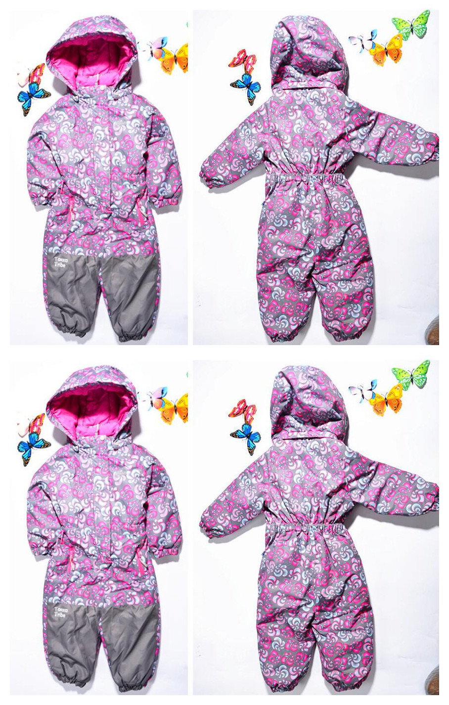 2018 Sale Warm Winter Suit Brand Children's Leotard Romper Teddy Thick Coveralls Assault Boys And Girls High end Outdoor Ski