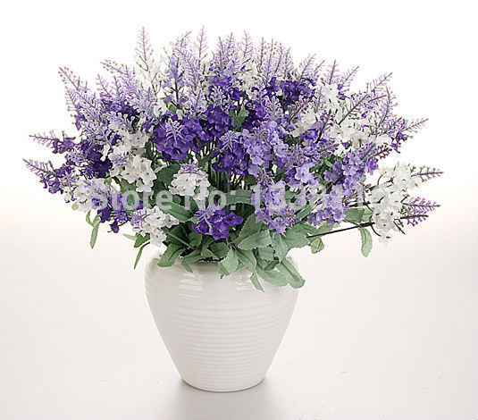 10pcslot artificial silk lavender flowers bouquet for wedding party 10pcslot artificial silk lavender flowers bouquet for wedding party home decorative flowers no vase in artificial dried flowers from home garden on mightylinksfo