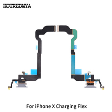 Good Quality For iPhone X iX Charger Charging Port USB Dock Connector Replacement Headphone Audio Jack Flex Cable цены