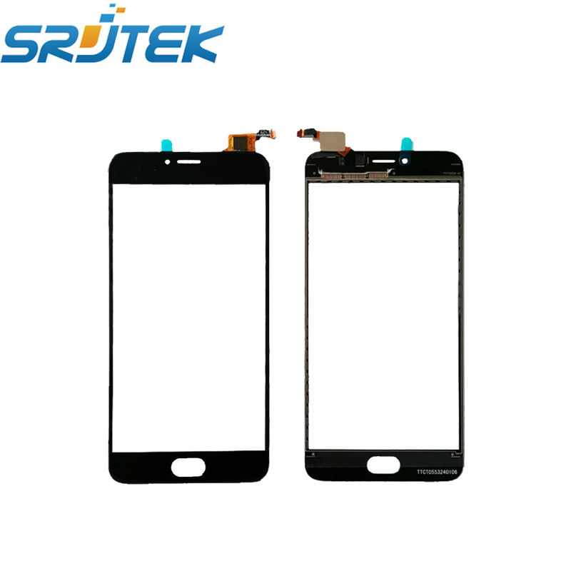 For Meizu L681H Texted 5.5''  Touch Screen Digitizer Sensor Front Glass Panel Replacement Parts For Meizu M3 Note L681H Black