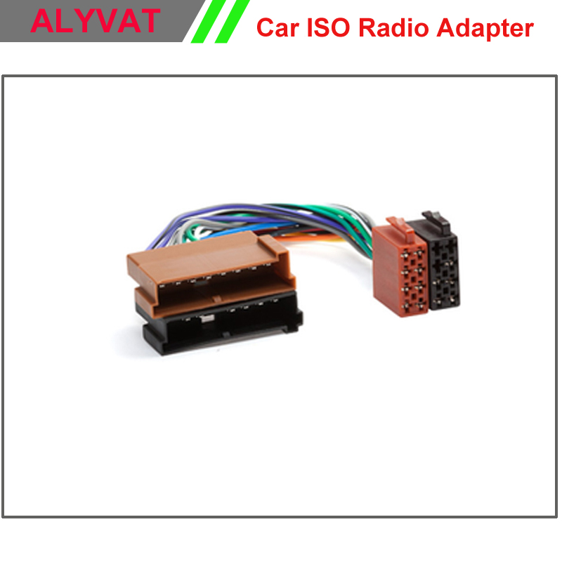 Free Shipping Car DVD CD Stereo ISO Wiring Harness For Ford 1985 to 2005 Radio Wire Adapter Plug Connector Adaptor Cable