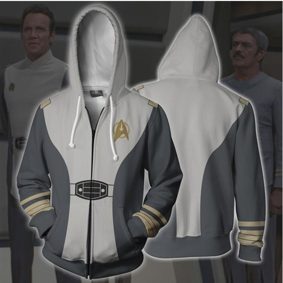 Star Trek Hoodies New Cosplay Sweatshirts Anime Costume Men Women