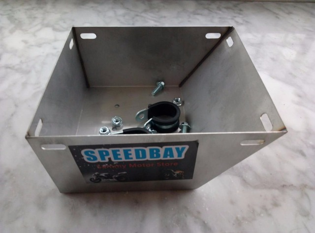 Cg stainless steel vintage modifed motorcycle battery
