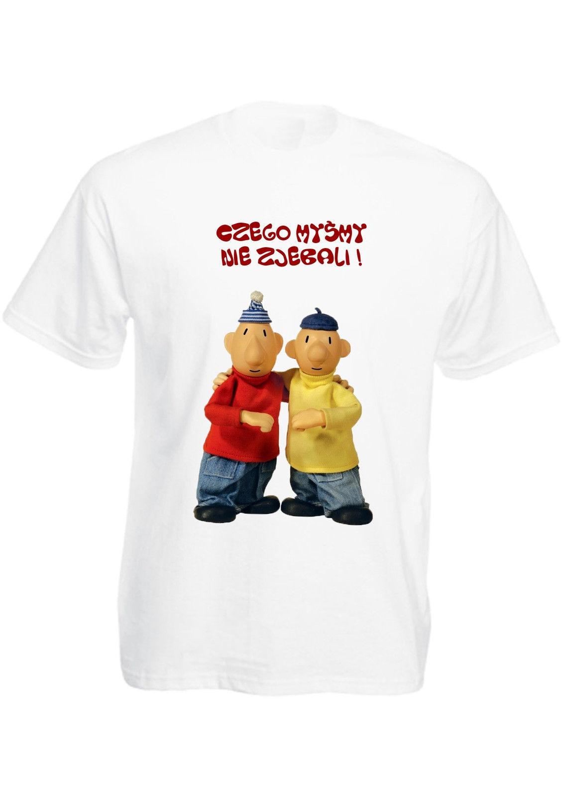 POLAND Koszulka smieszna Polish T-shirt Polska bajki prl prezent sasiedzi Pat New Fashion Casual Cotton Short-Sleeve feyenoord