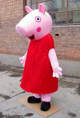 Hot Pig Mascot Costume, Pig Cartoon Costume,Pig Mascot
