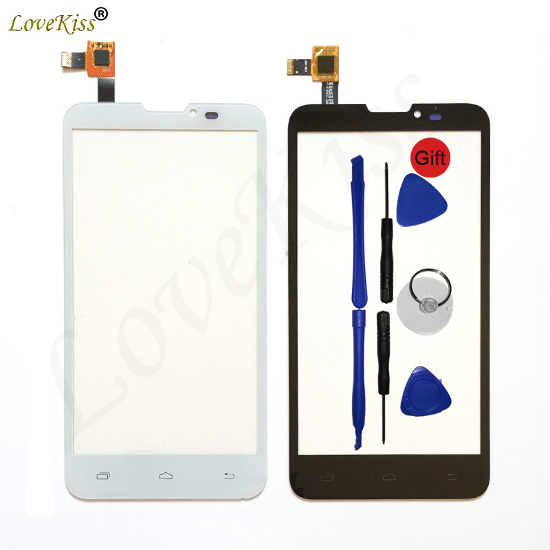 PAP 5300 Front Panel For Prestigio MultiPhone PAP 5300 Duo PAP5300 Touch Screen Sensor Digitizer LCD Display Glass Replacement