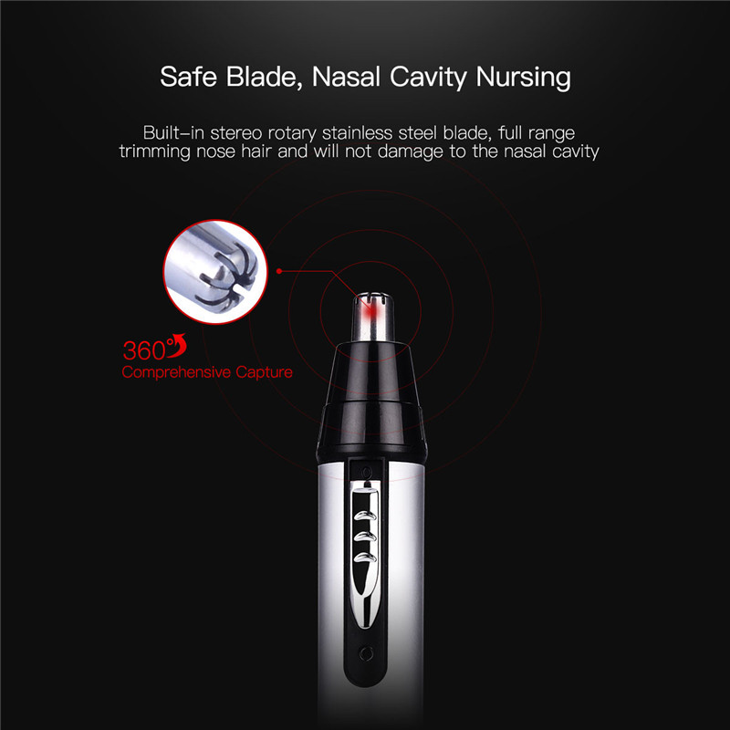 CkeyiN 3 in1 Electric Ear Nose Trimmer for Men s Shaver Rechargeable Hair Removal Eyebrow Trimer