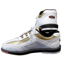 Professional Men Bowling Shoes Special Sports Shoes Green And Black Spell Color Fashion Men Shoes