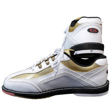 Professional men bowling shoes special sports shoes green and black spell color men shoes(China)