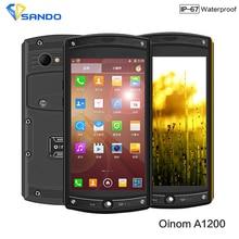 Date 4G FDD-LTE Oinom LMV10 1200 IP68 étanche téléphone Quad Core Qcomm MSM8926 Android 4.4 Gorille verre 3 2G RAM 13.0MP