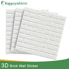 Kaguyahime 3D Wall Stickers Waterproof Decor Self Adhesive Wallpaper TV Background For Room Bedroom DIY Brick Marble Wallpaper