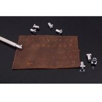 36 шт./компл.  ручная работа  набор стальных штампов с буквенным номером из кожи  набор штампов 3 5 мм 6 5 мм
