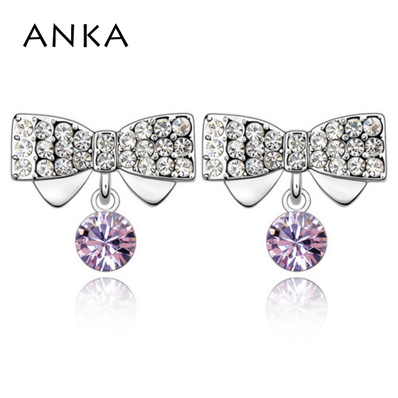 ANKA New Special Offer Classic Lovers Brinco Brincos Earrings For Free Shipping Wholesale Price Crystal Earring #82562