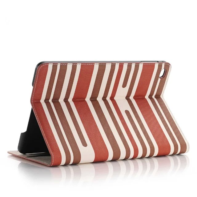 Luxury Chromatic Stripes Magnetic Smart Sleep Case Stand PU Leather Cover With Stand Holder For Apple Ipad Pro 12.9 inch Tablet free shipping new 10 1 original stand magnetic leather case cover for lenovo ibm thinkpad 10 tablet pc with sleep function