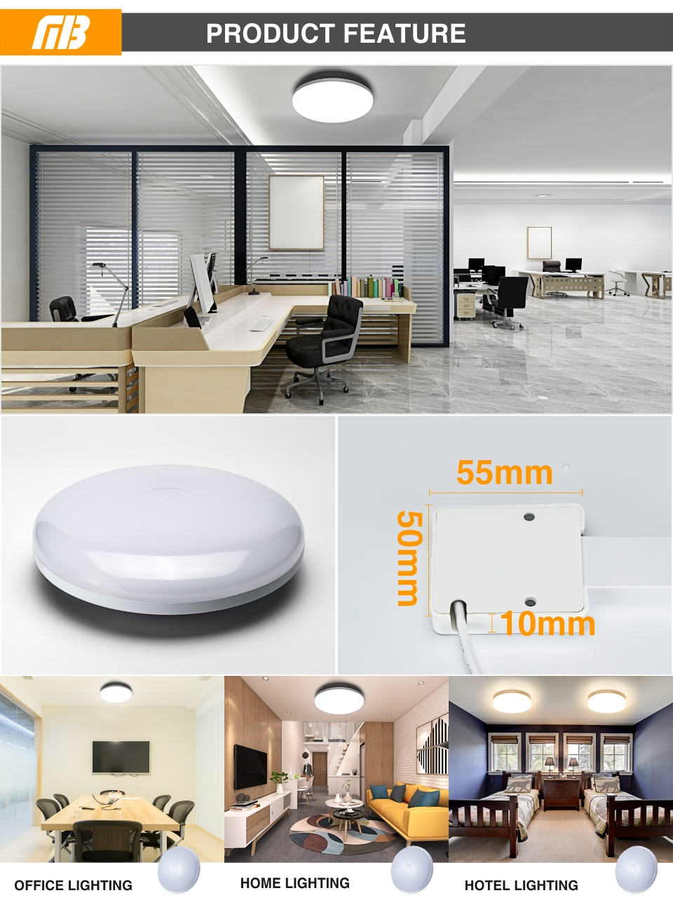 HTB1yXmMatfvK1RjSspfq6zzXFXav LED Panel Lamp LED Ceiling Light 48W 36W 24W 18W 13W 9W 6W Down Light Surface Mounted AC 85-265V Modern Lamp For Home Lighting