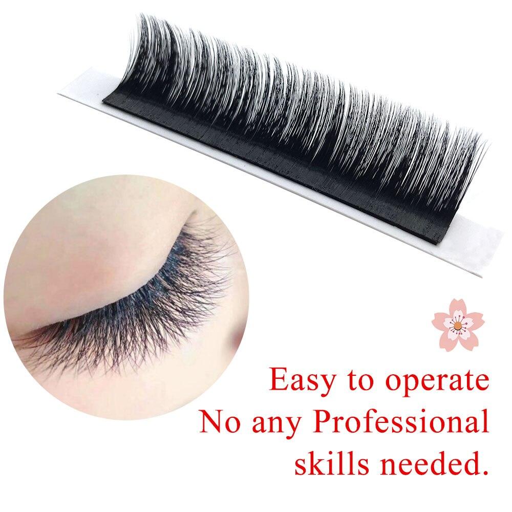 fd9cfc22d53 NAGARAKU Eyelash Extensions Auto fans eyelash Easy to fan lash 0.03mm Mixed  Length Faux Mink Eyelash Russian volume soft lash-in False Eyelashes from  Beauty ...