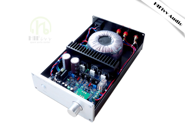 Hifivv audio amplifier IRFP240 IRFP9240 hifi power amplifiers symmetric double differential field effect tube stereo sound