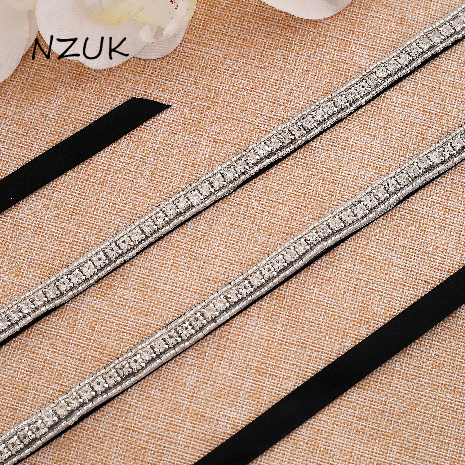 Diamond Wedding Belt Woman Crystal Belt Handmade Silver Rhinestones Wedding Sash Belt For Bridal Dress Y117S