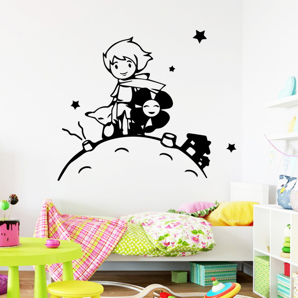 Lovely The Little Prince Wall Art Decal Decoration Wallsticker Decor Living Room Bedroom Decor Kids Room Baby Mural