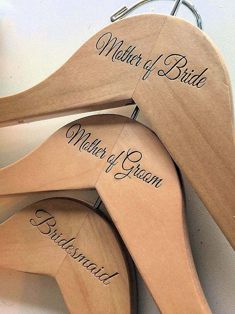 Free shipping natural hanger Personalized Wedding Hanger, bridesmaid gifts, name hanger, brides hanger