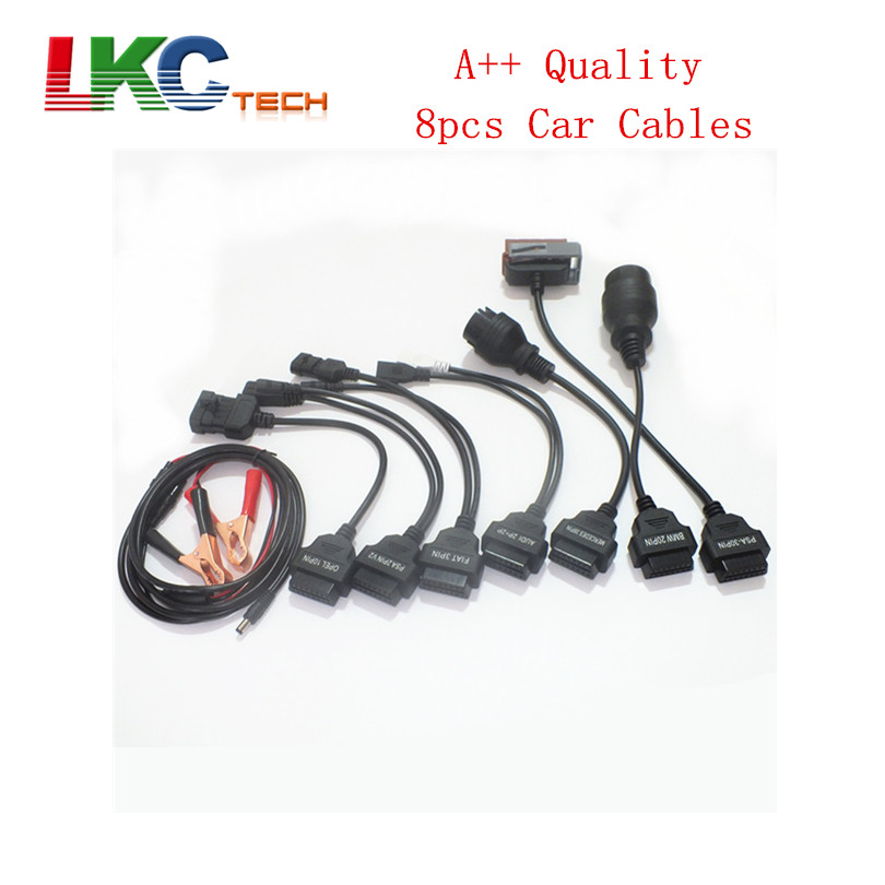 2017 New Arrival Top Quality OBD OBD2 Car Cables with Separate Packing TCS CDP Car Cable