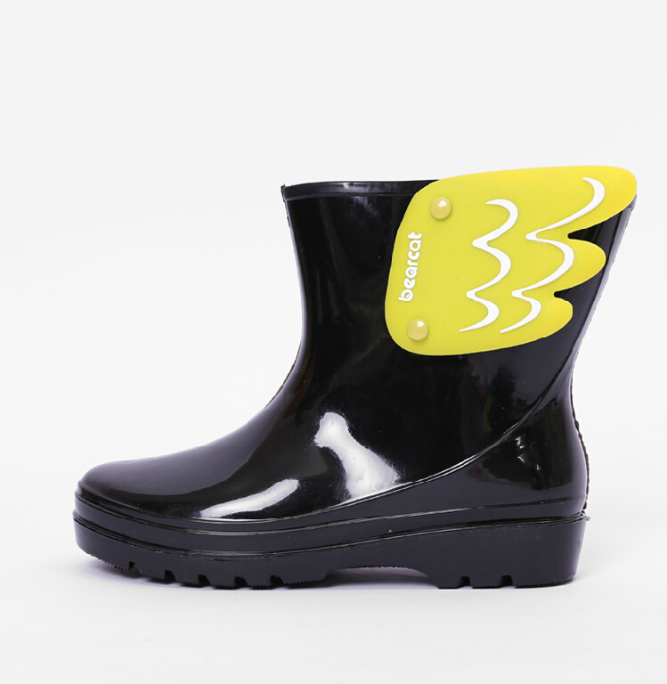 Koovan-Children-Rain-Boots-Childrens-Mid-Cut-Kids-Fashion-Baby-Girls-Boys-Water-Shoes-Cartorn-Wing-Fly-Rubber-Boots-Light-Wings-2