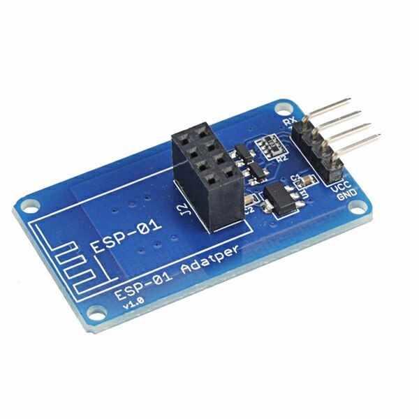 ESP8266 ESP-01 ESP01 ESP-01S Serial WiFi Wireless Shield Adapter Module 3.3V 5V Serial Board For Arduino UNO R3 Microcontroller