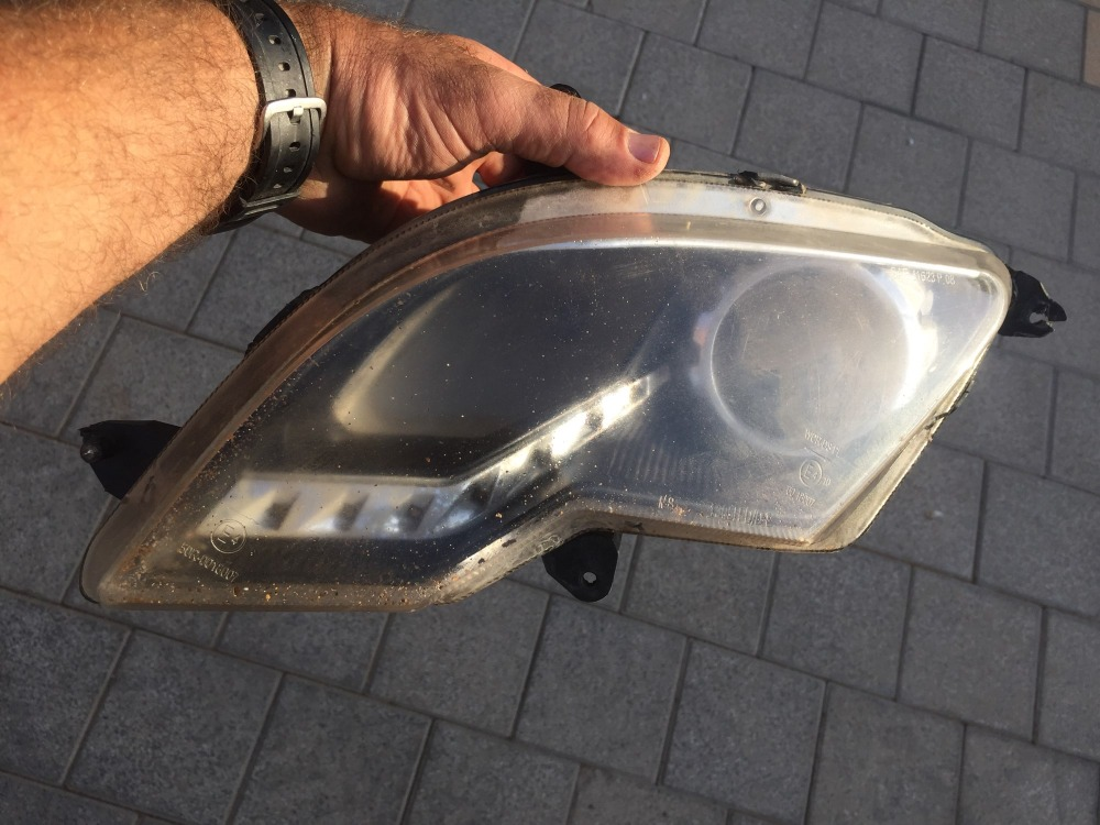front left headlight suit for cf moto 800 ex parts number is 7030-160110-00001 плита e531 00001