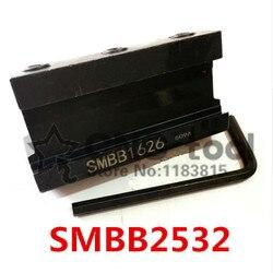 SMBB2532 przecinanie bloku ostrza  narzędzie do rozstania narzędzie do rozstania uchwyt stojaka 25mm wysoki zacisk do 32mm narzędzie do rozstania SPB32-2/32-3/32-4
