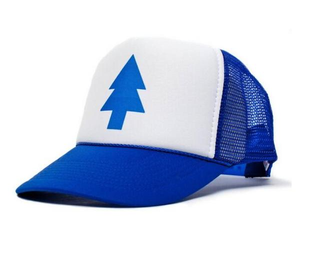 Hot New Gravity Falls Boy Girl Peak Cap Baseball Cap Hat