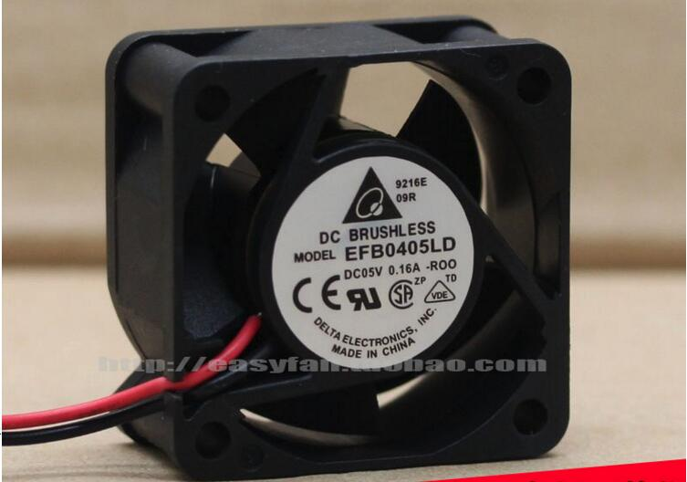 Delta EFB0405LD R00 DC 5V 0.16A 40x40x20mm Server Square fan